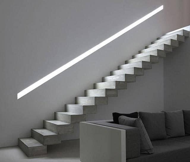 Avantages d'un escalier en béton ciré