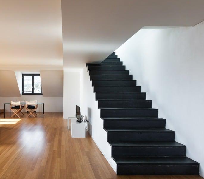 Revêtements d'escalier en pierre naturelle